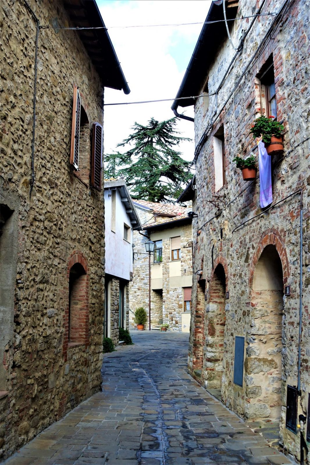 Landsby i Toscana