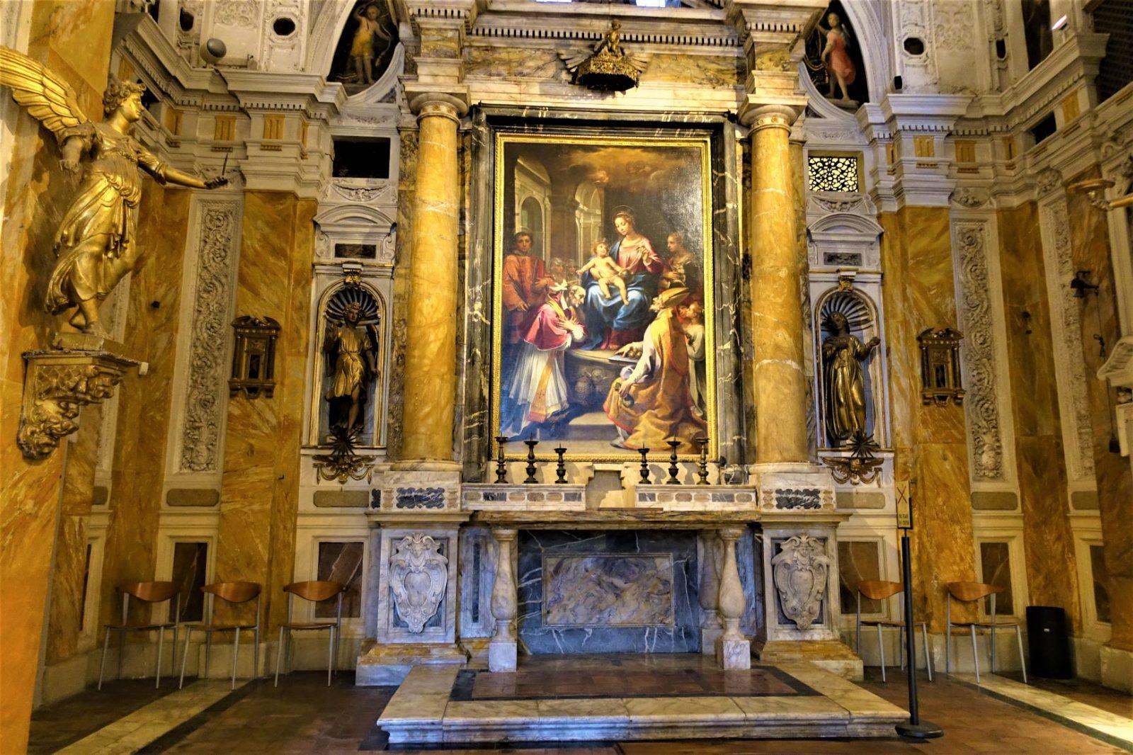 altertavle i Siena