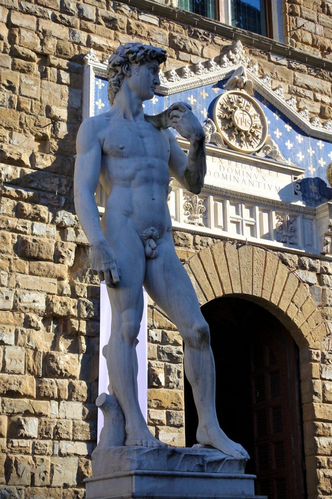 Michelangelos mesterverk, statuen av David