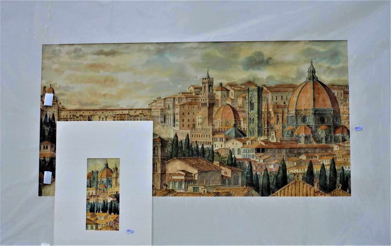 Kunsttegning fra Firenze