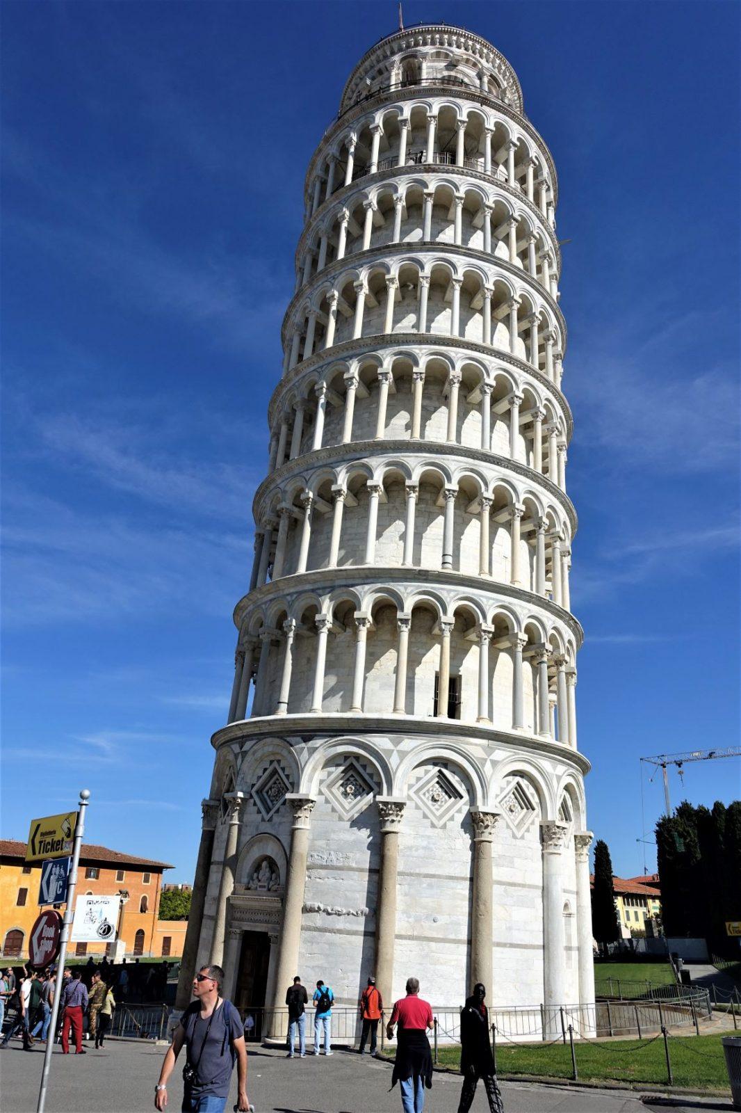 Skjeve tårnet i Pisa