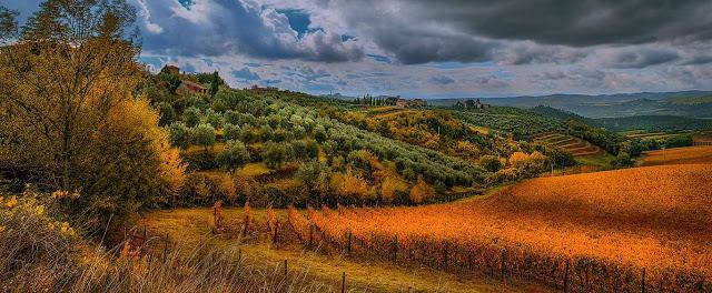 God morgen vakre Toscana    <div title=