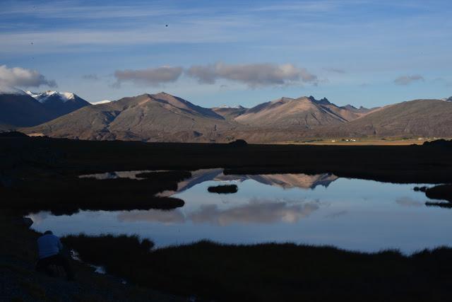 Øst på Island sagaøya