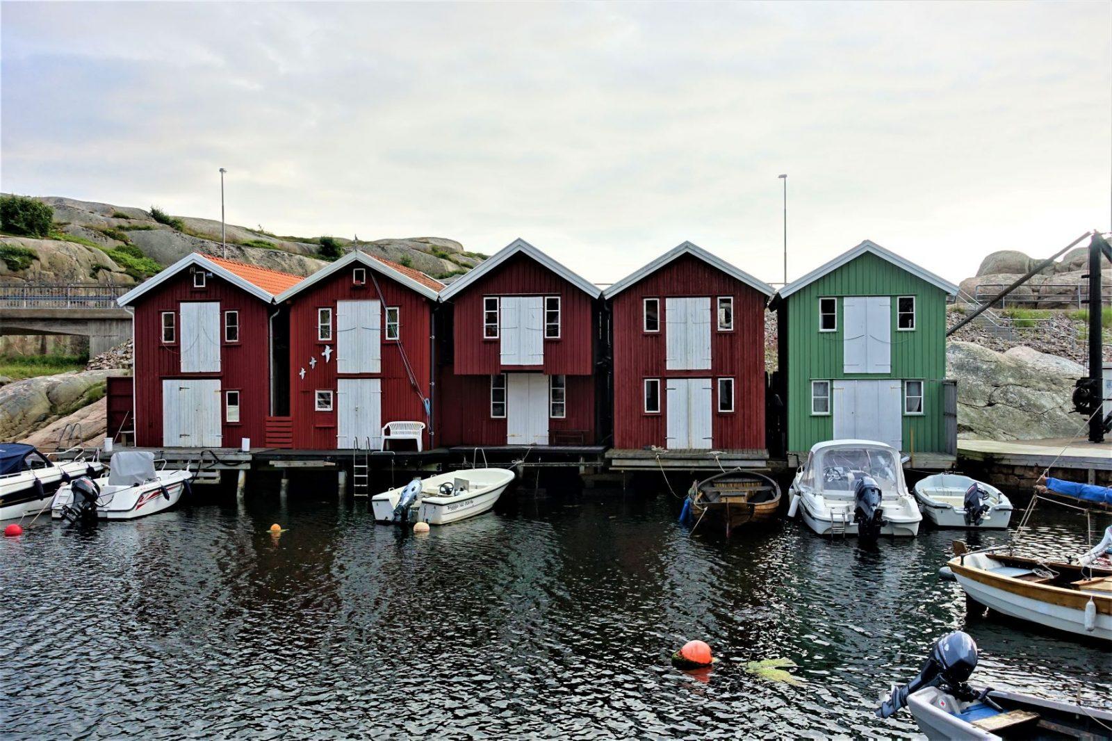 sjøbodene i Smøgen