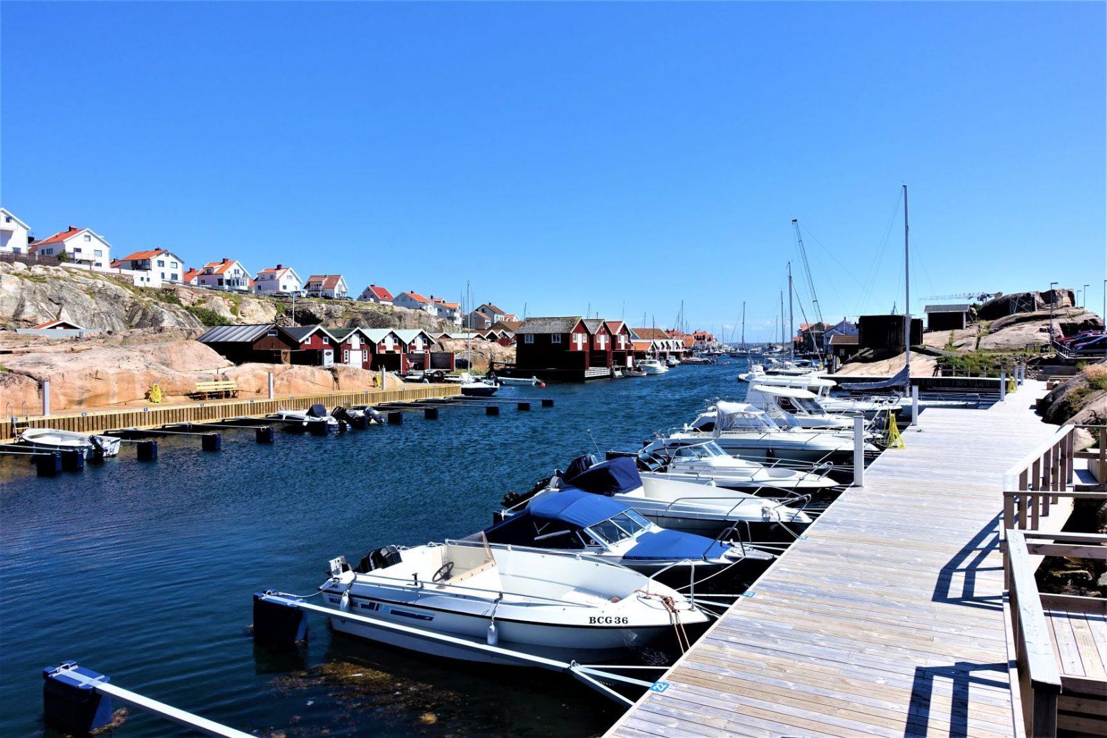 småbåthavn i smøgen