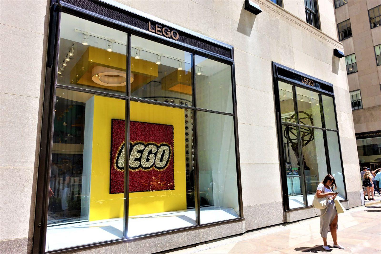 Legobutikken i New york