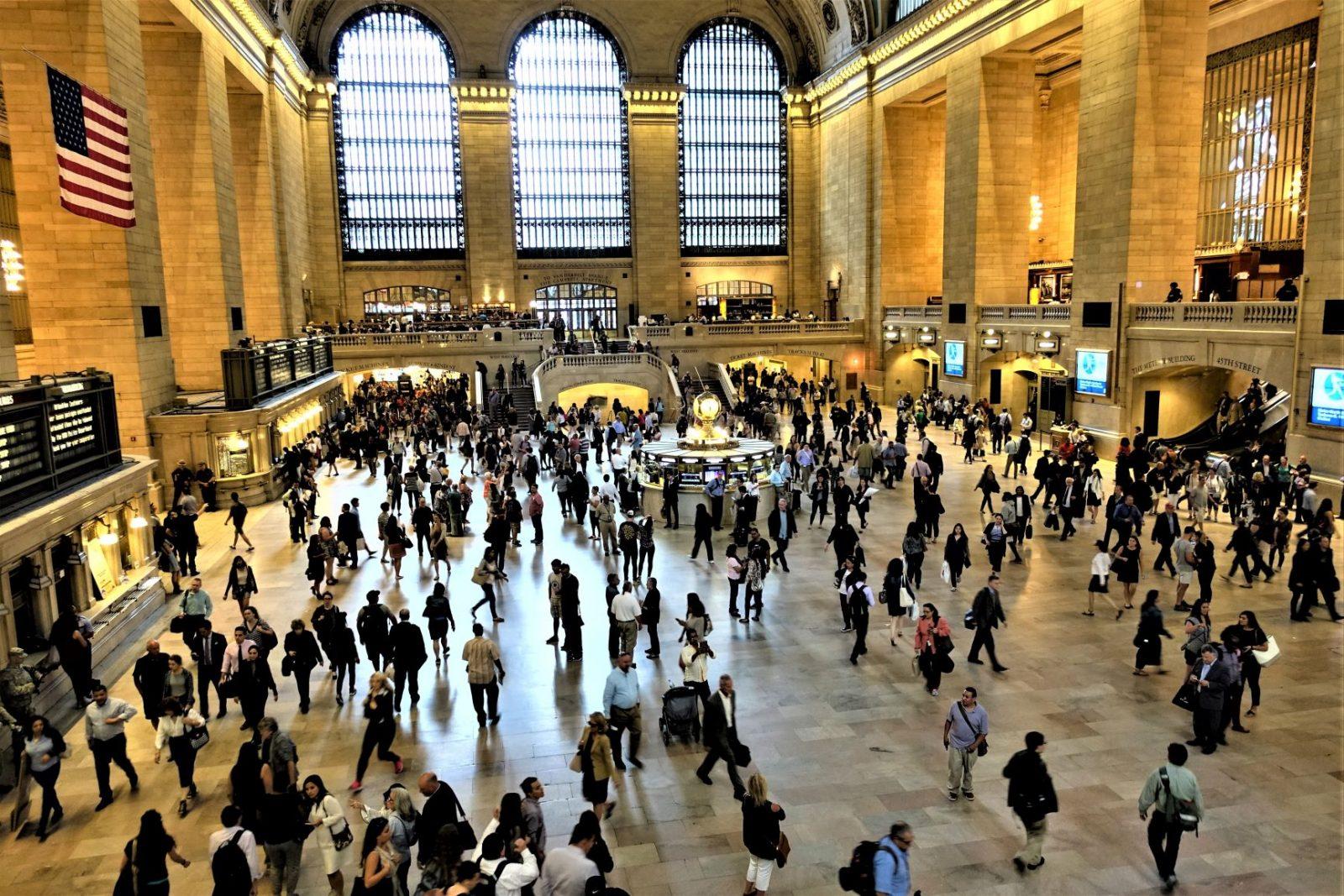jernbanestasjonen i new york