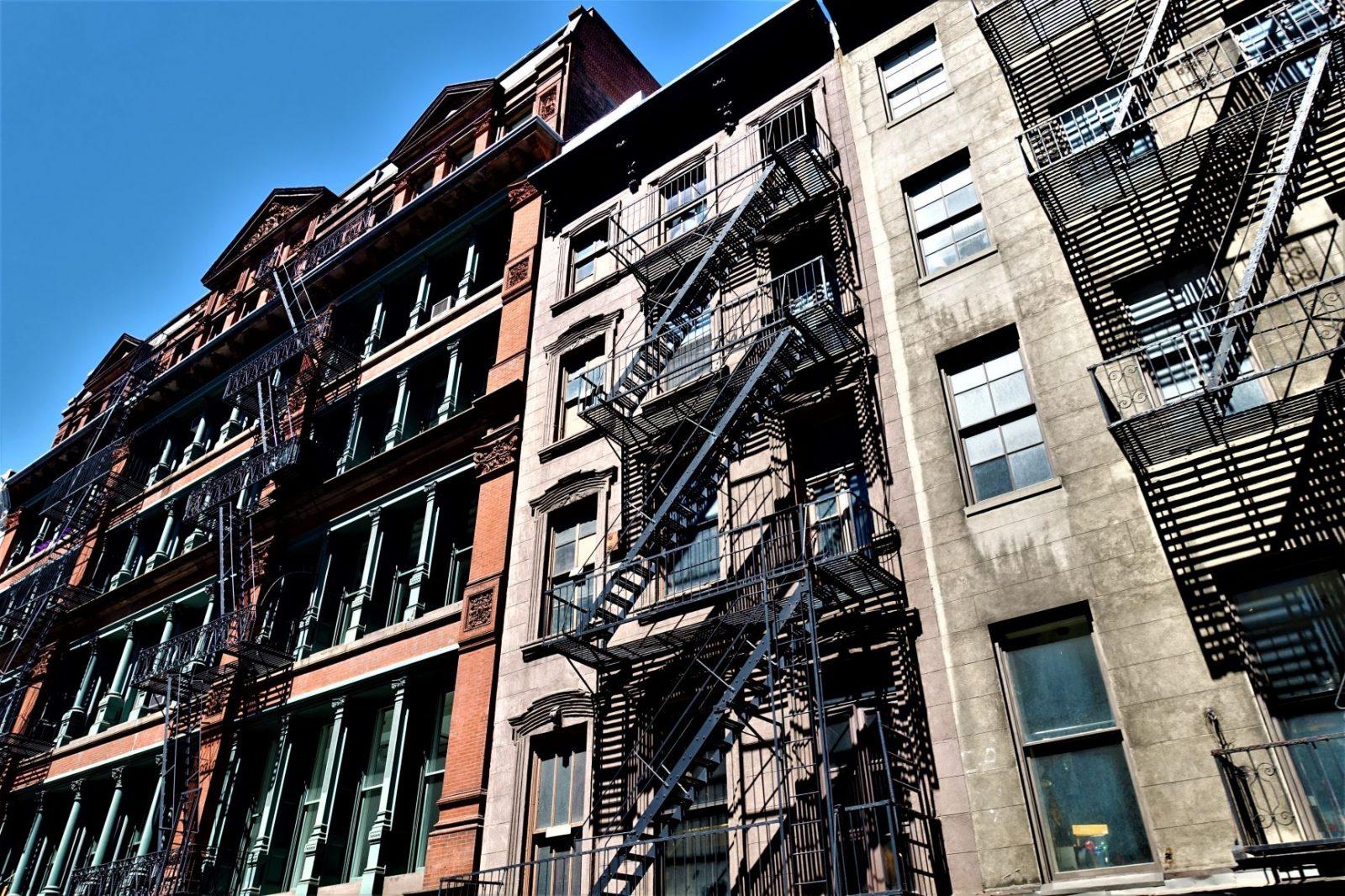 De eldste skyskraperne i Brooklyn New York