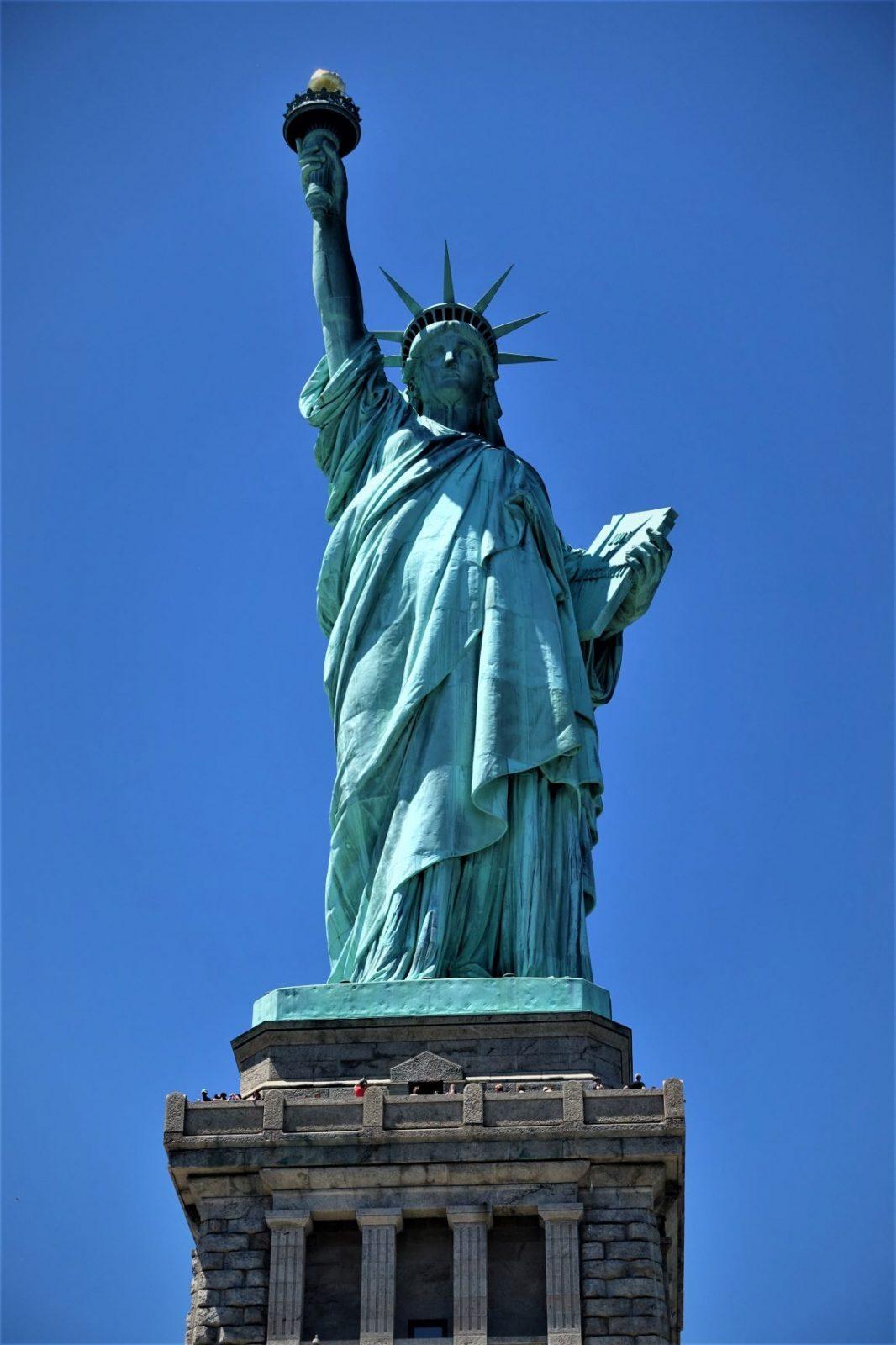Frihetsgudinnen i New york The Liberty