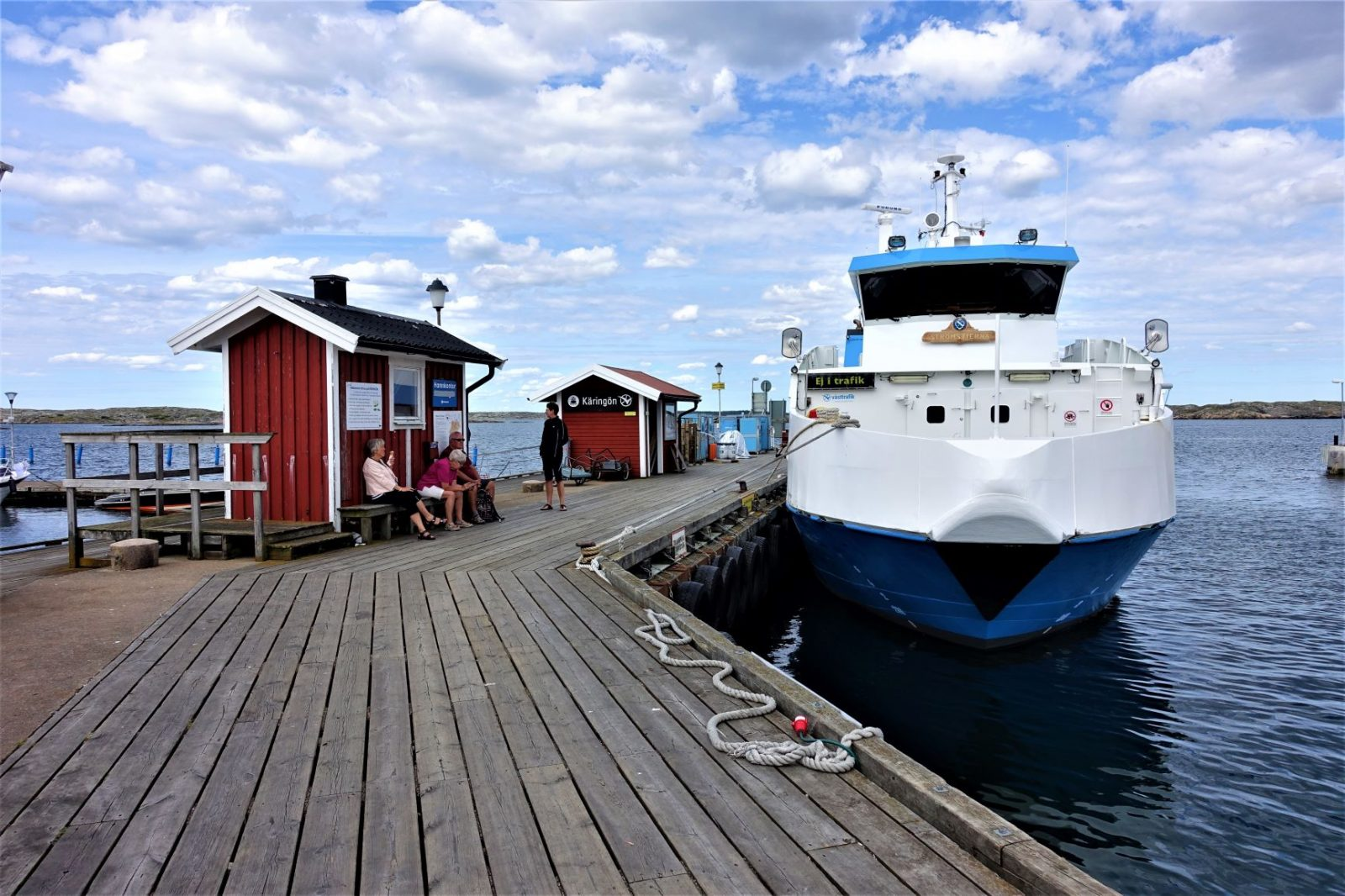 Fergen på kjerringøy svenskekysten