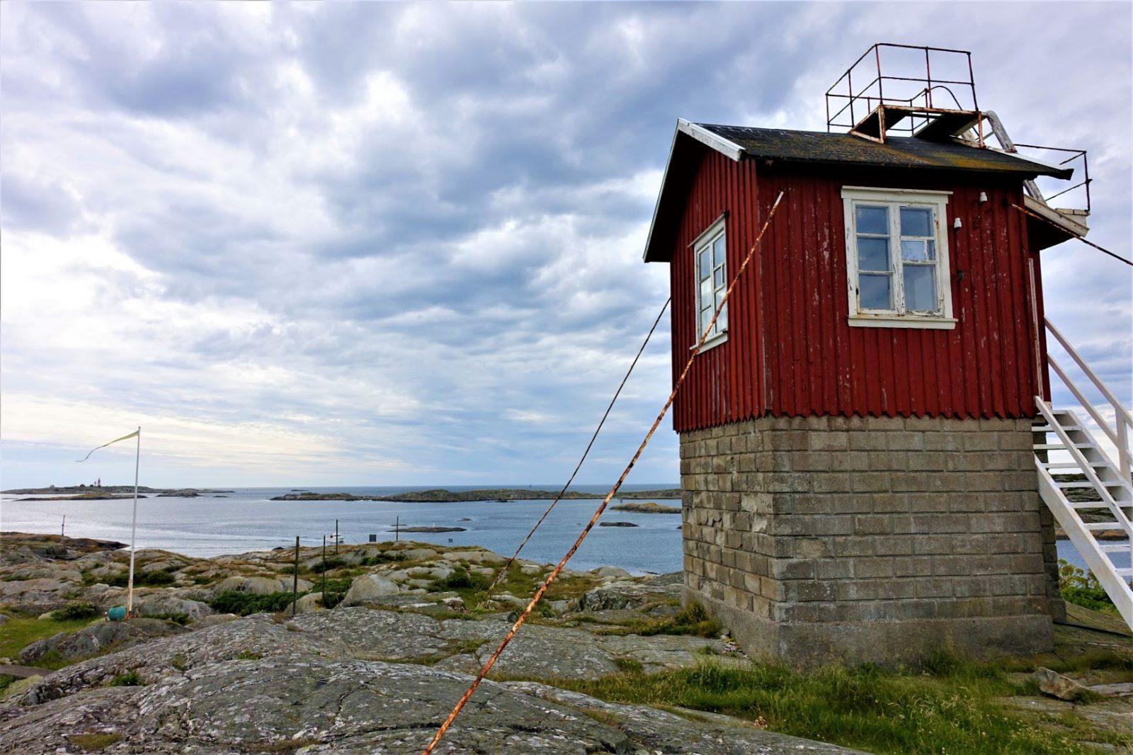 Utsikten fra Kjerringøy mot Måseskjær bohuslankysten