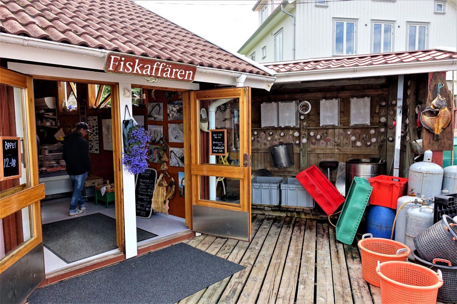fiskebutikken på kjerringøy svenske bohuslan