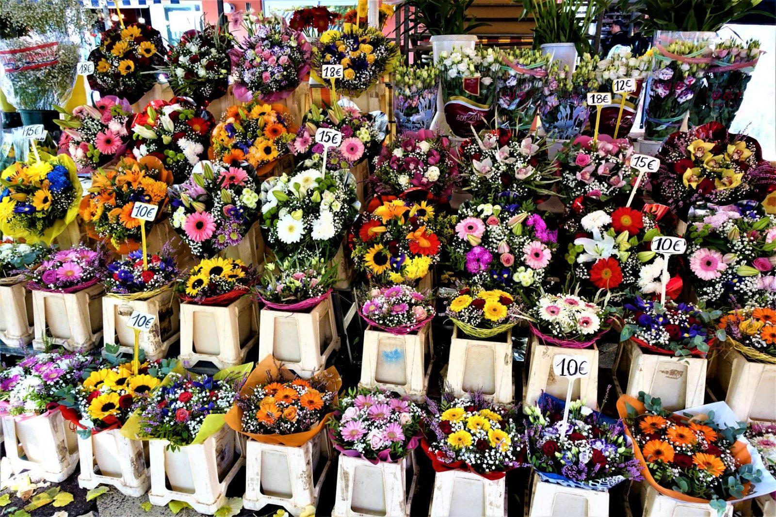 Blomstermarkedet i Nice