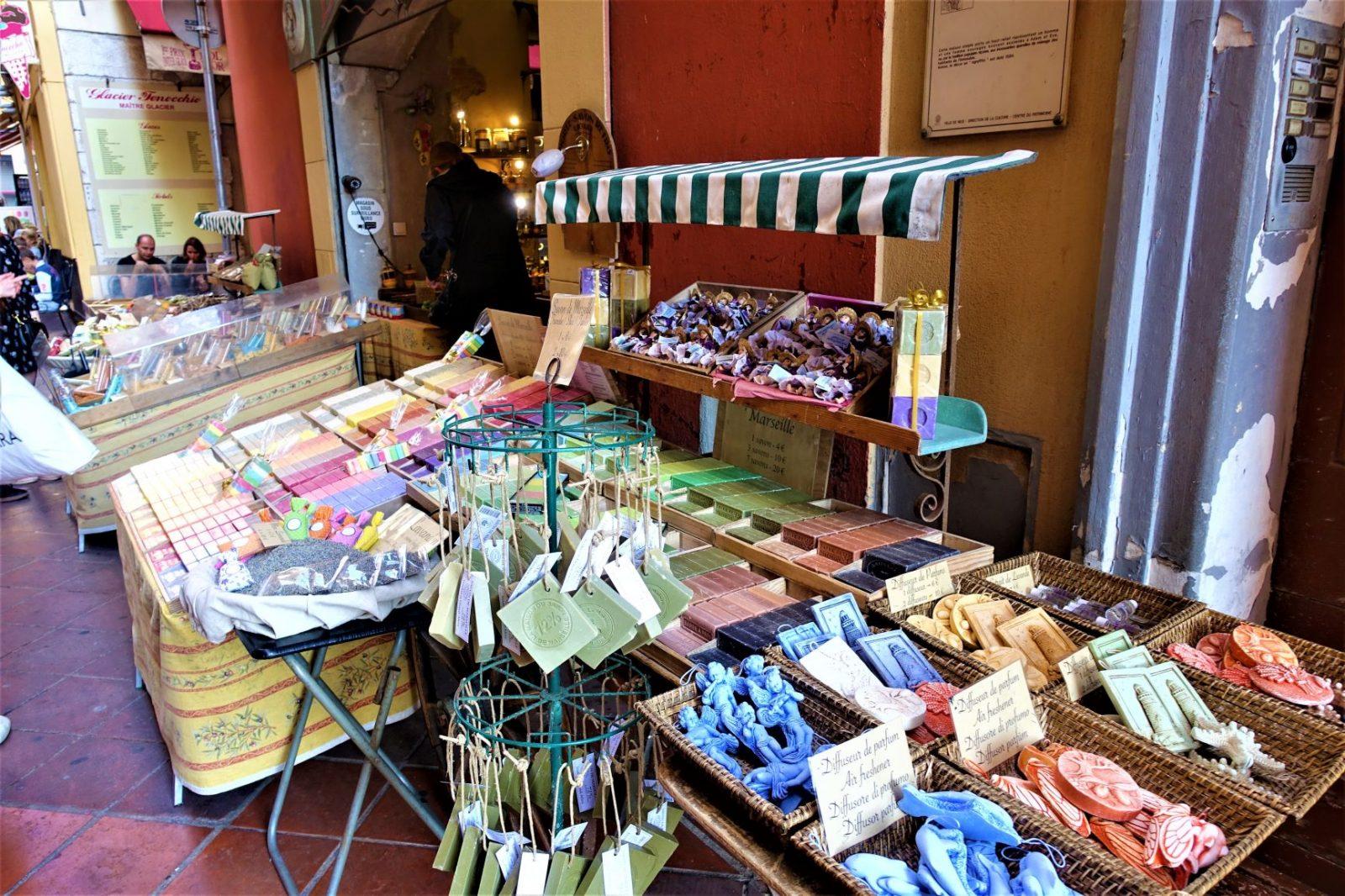såpebutikk i Nice