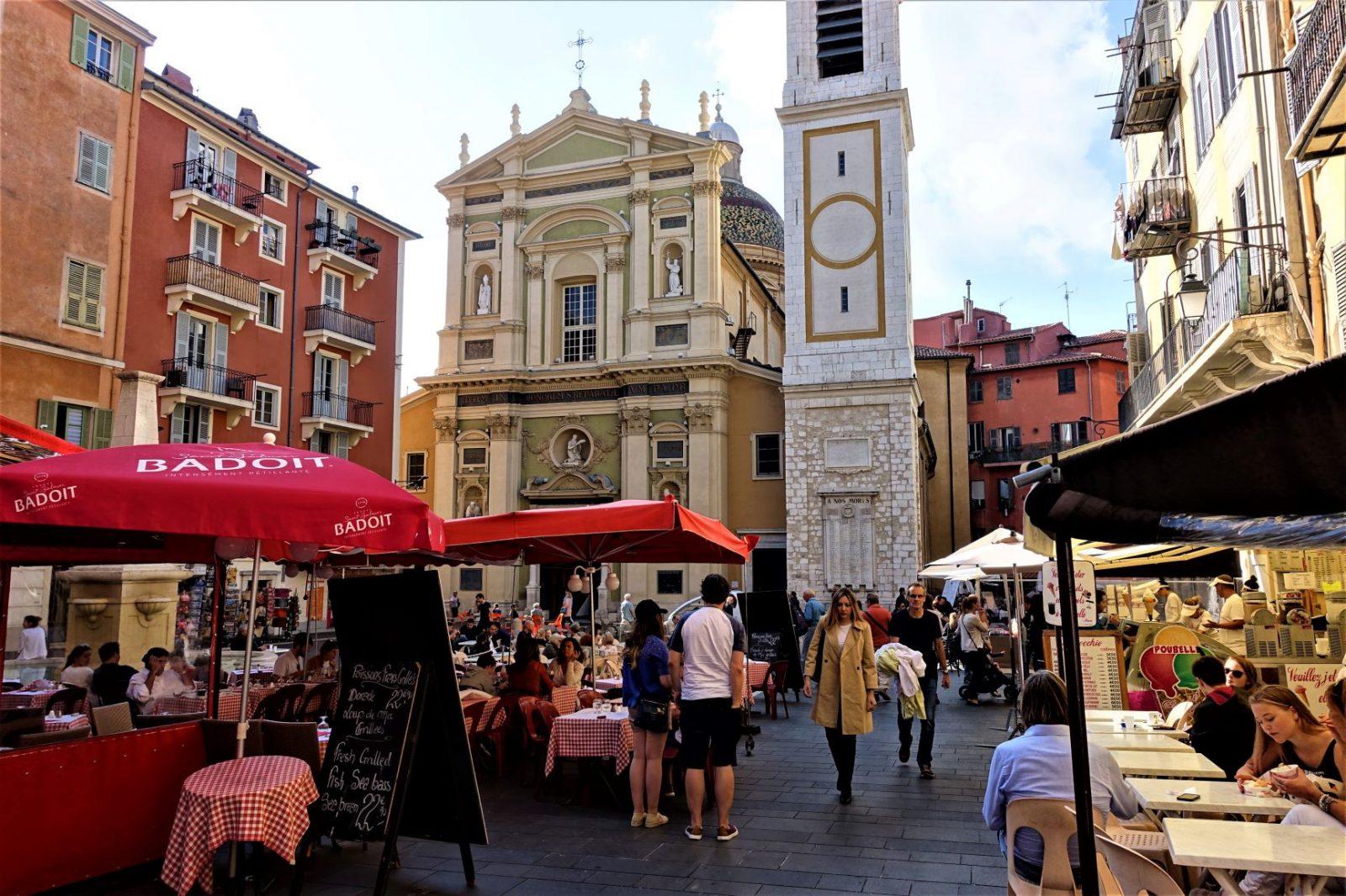 markedsplass i Nice
