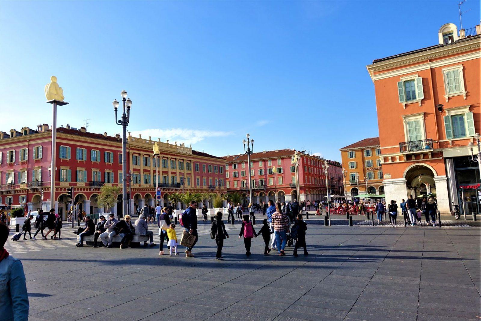 Sentrum av Nice