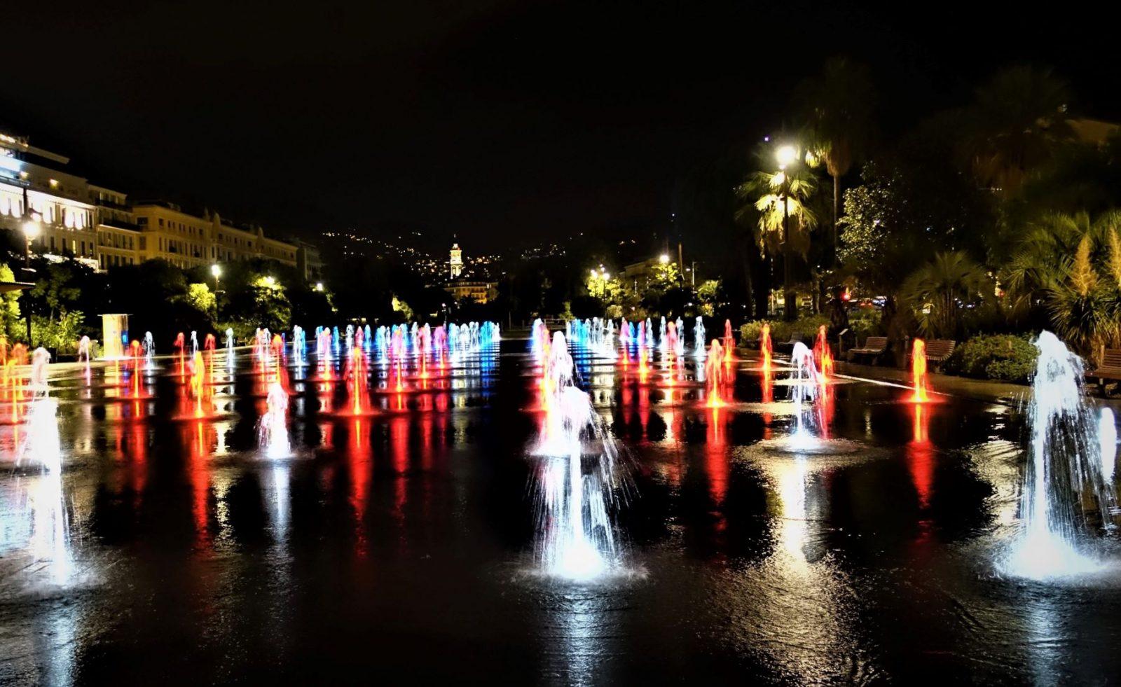 fontenene i Nice sentrum