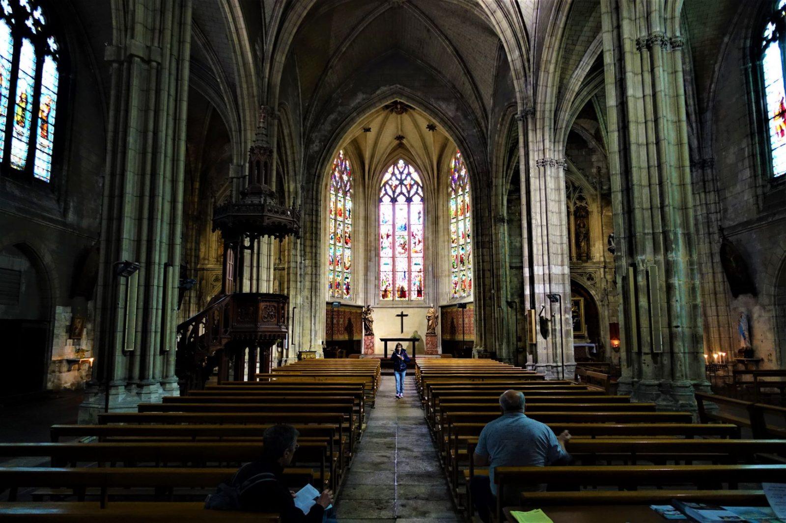 vakker kirke i bordeaux