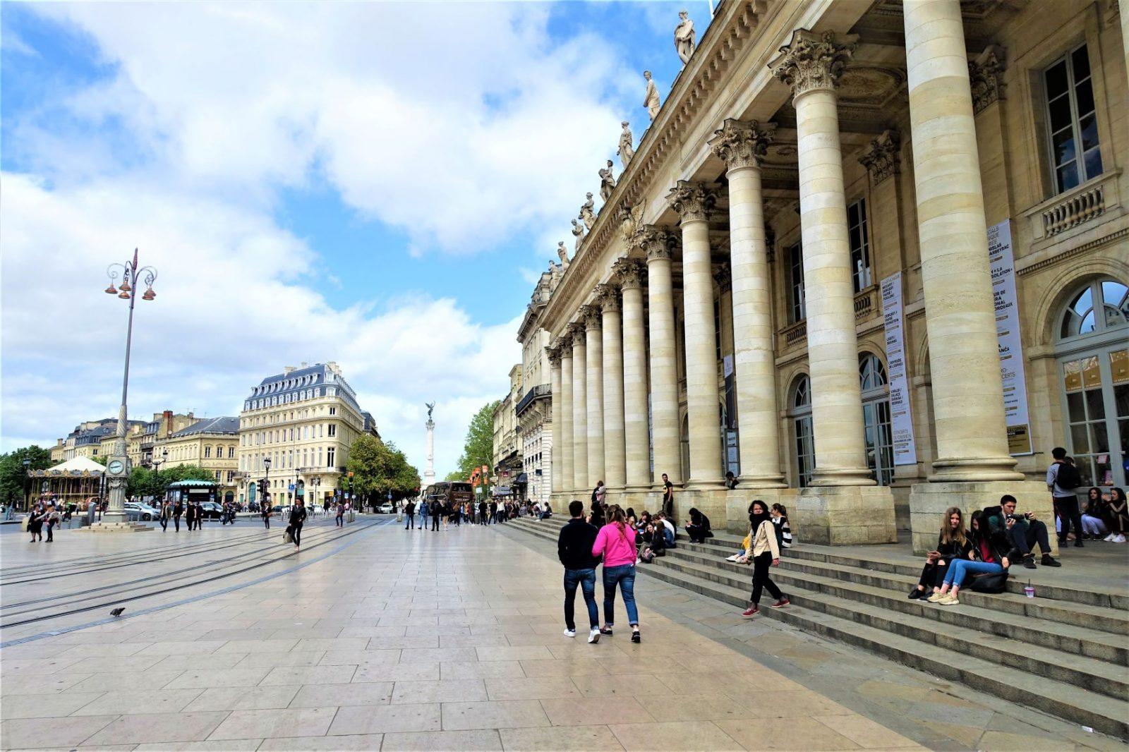 Grand Theatre i Bordeaux