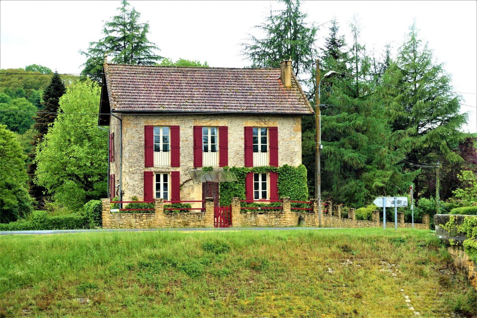 Franske små hus