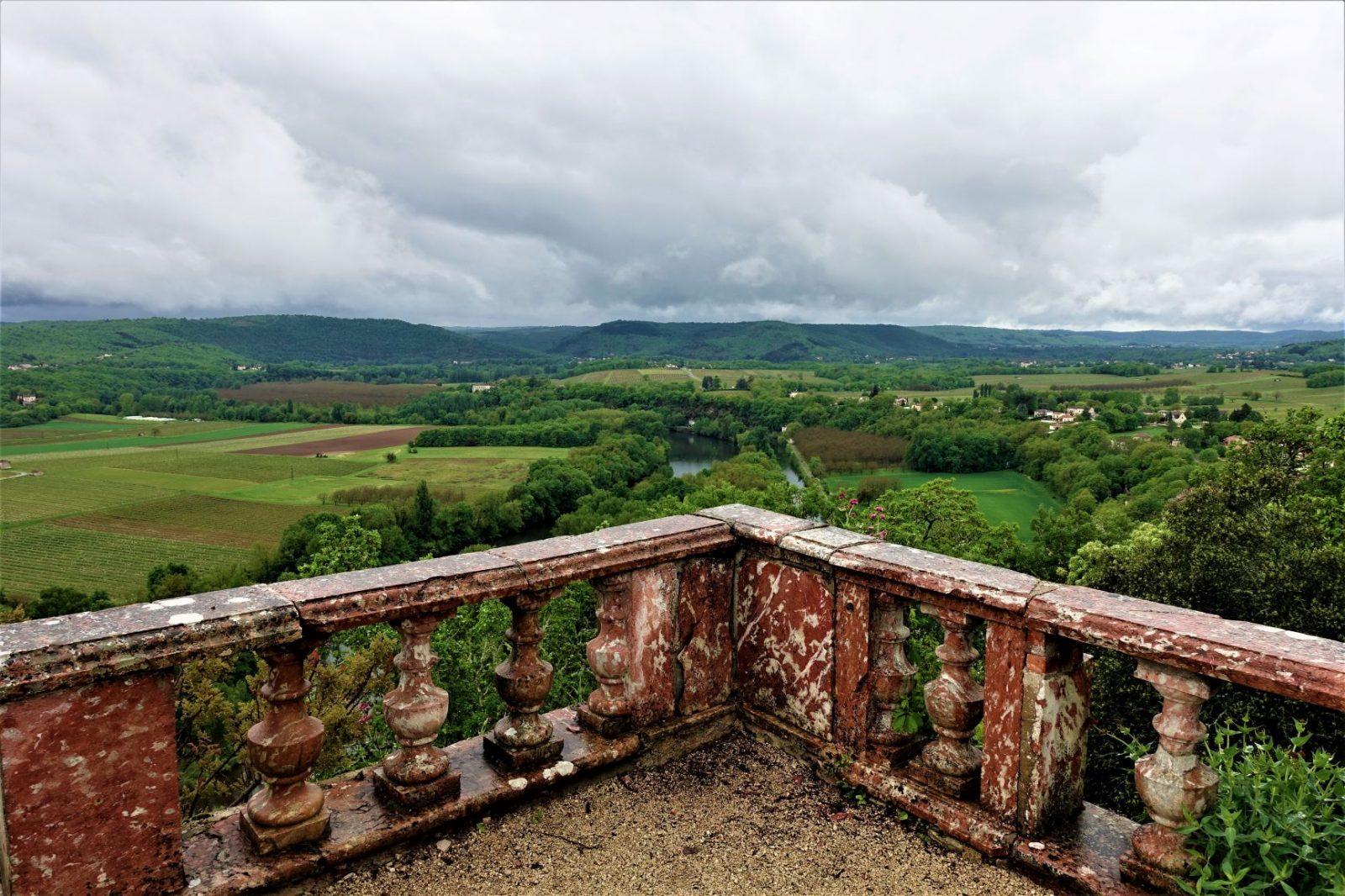 praktfull utsikt frankrike