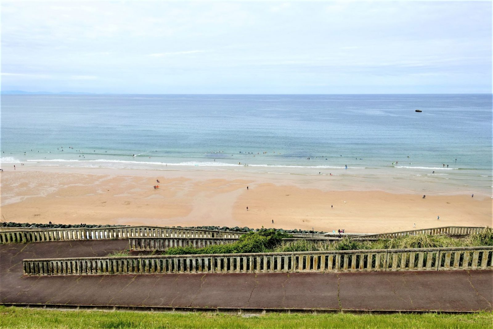 Biscayabukta og den ekslusive byen Biarritz