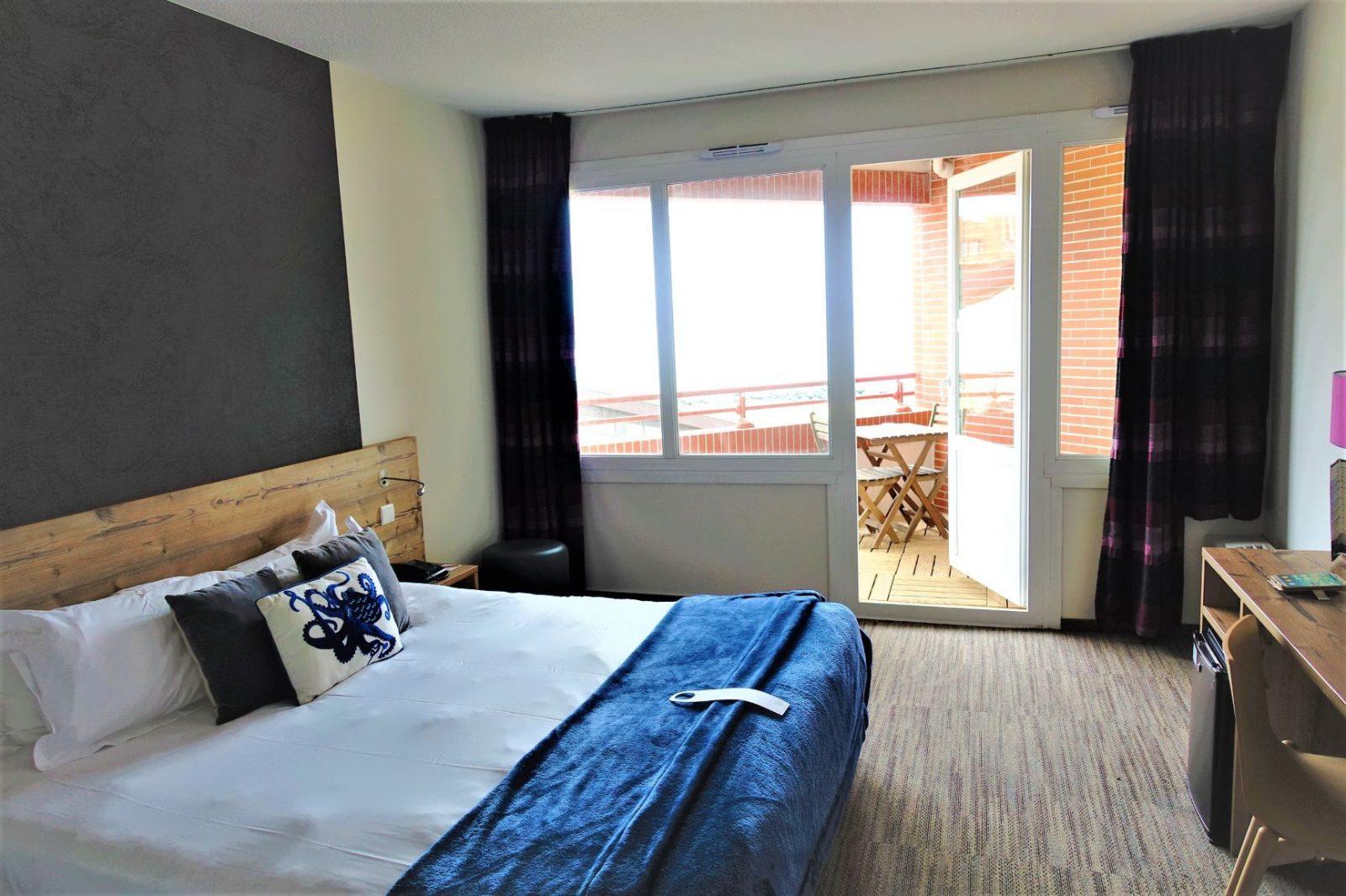 hotellrom østkysten frankrike