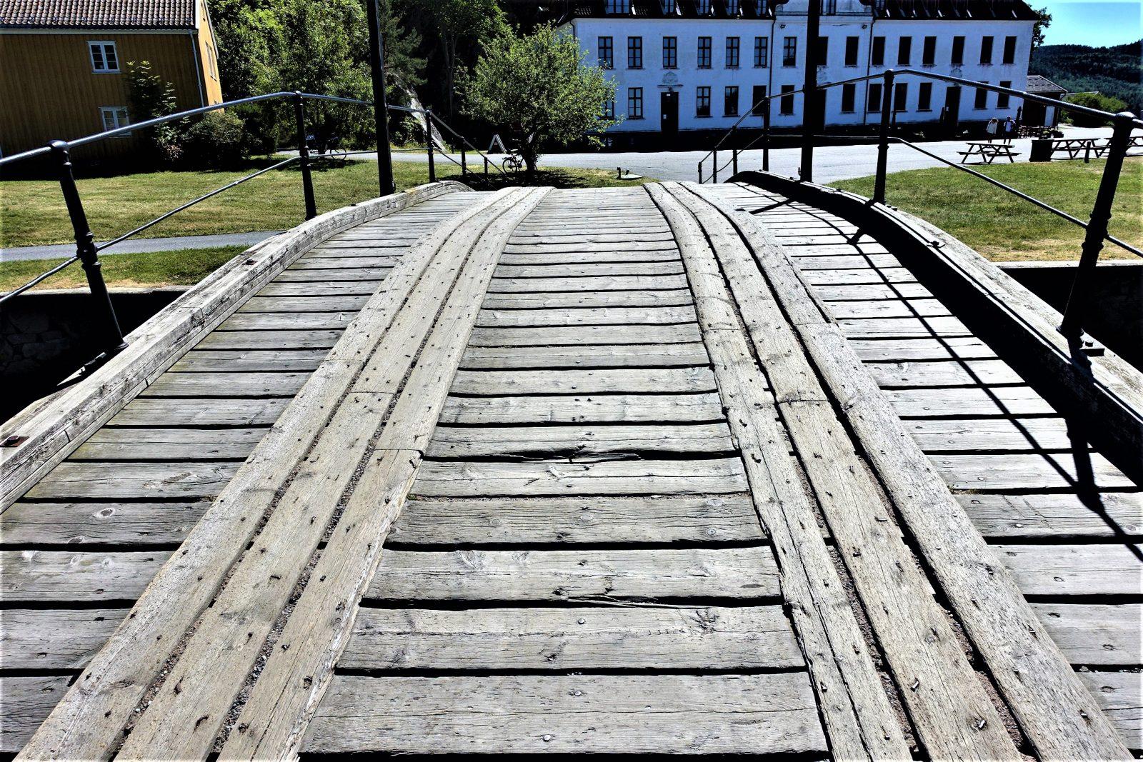 bro mellom kaholmene på oscarsborg