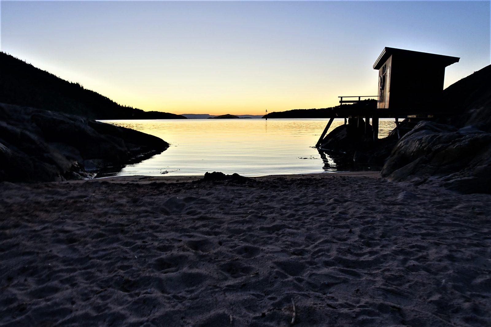 Fineste stranden i verden kommendantens badehus på oscarsborg