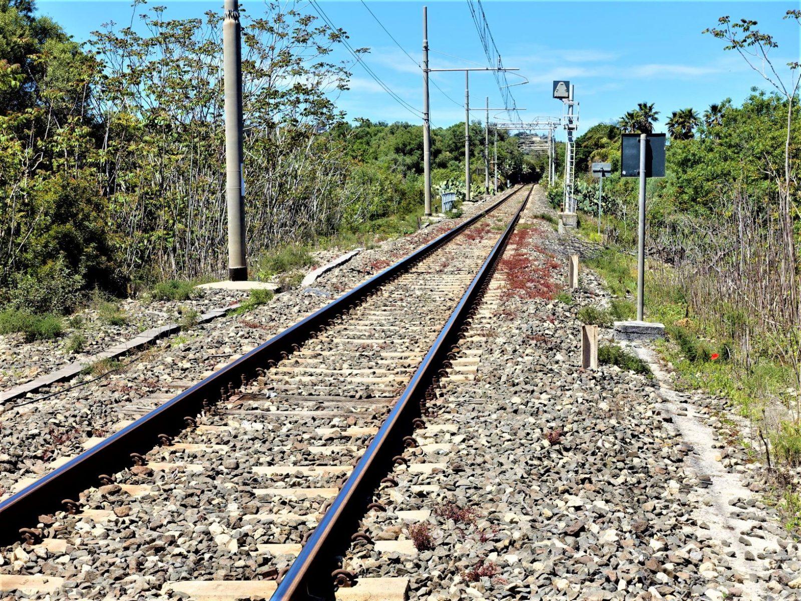 jernbanen på Sicilia