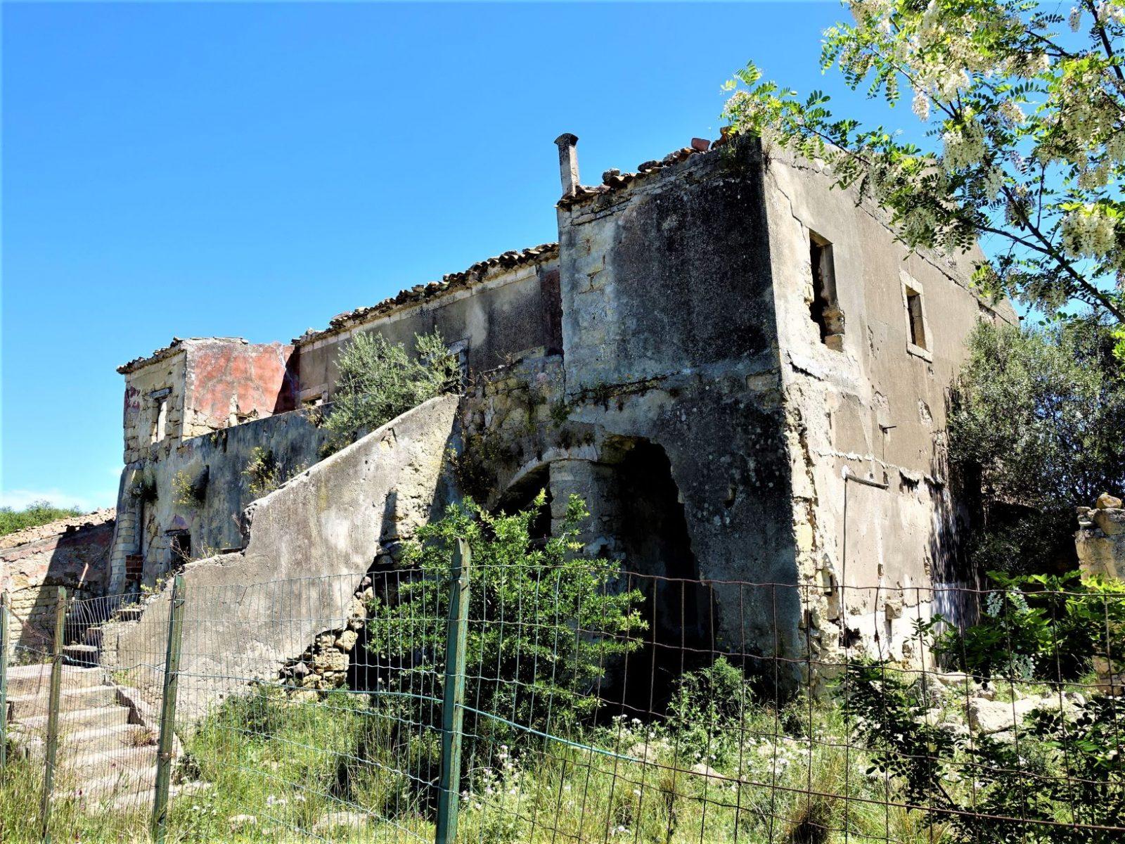 Gamle ruiner Sicilia