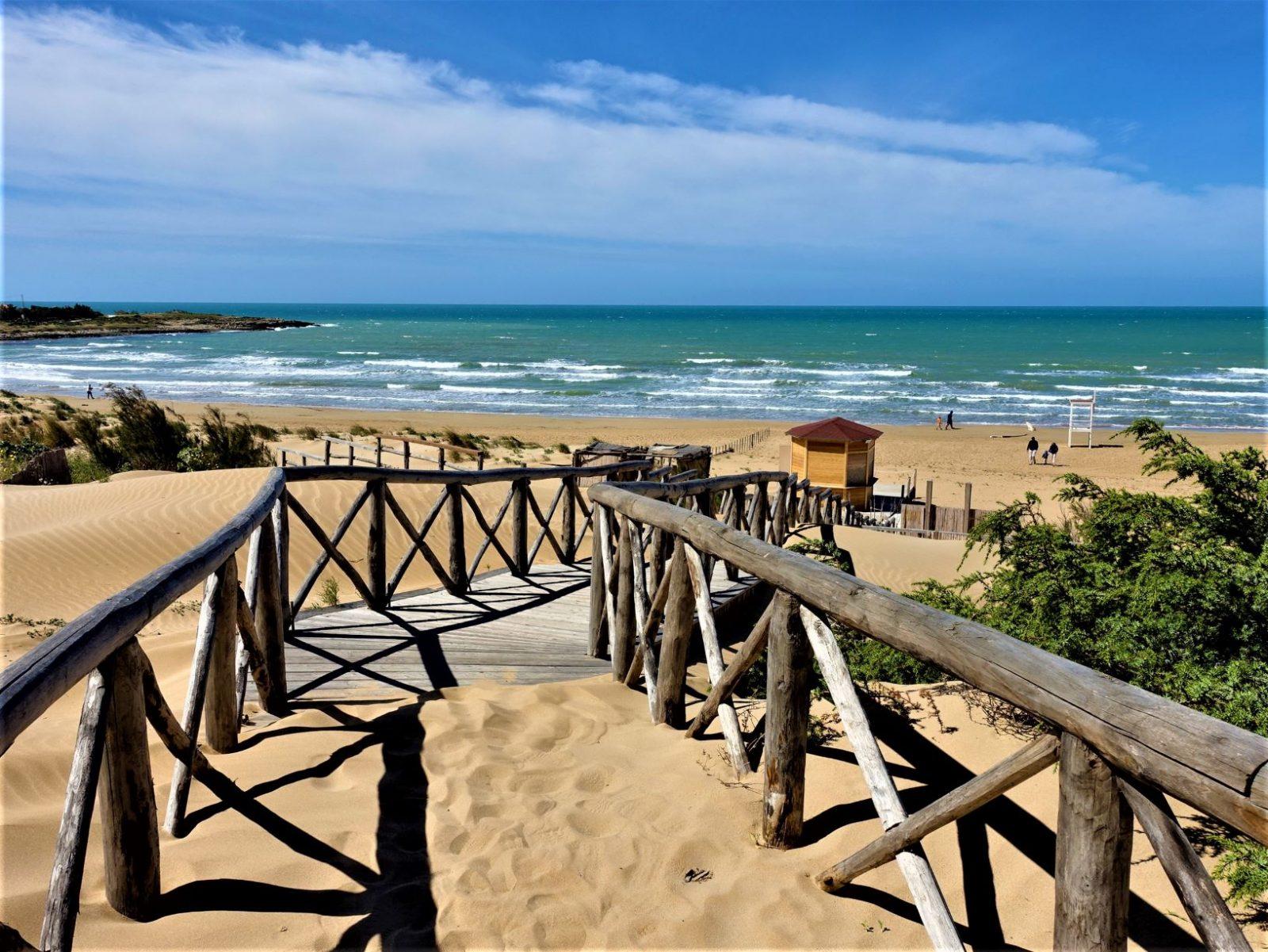 Sicilias vakre sandstrender
