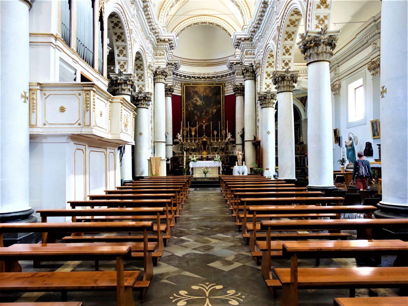 Kirken i  Ragusa UNESCO verdensarveliste Sicilia