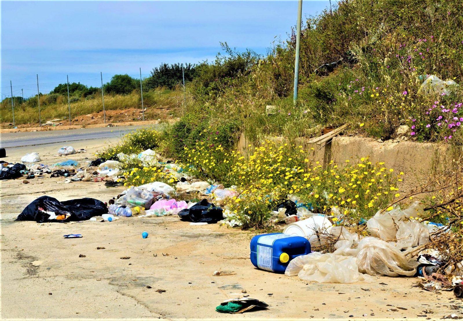 Søppel på Sicilia