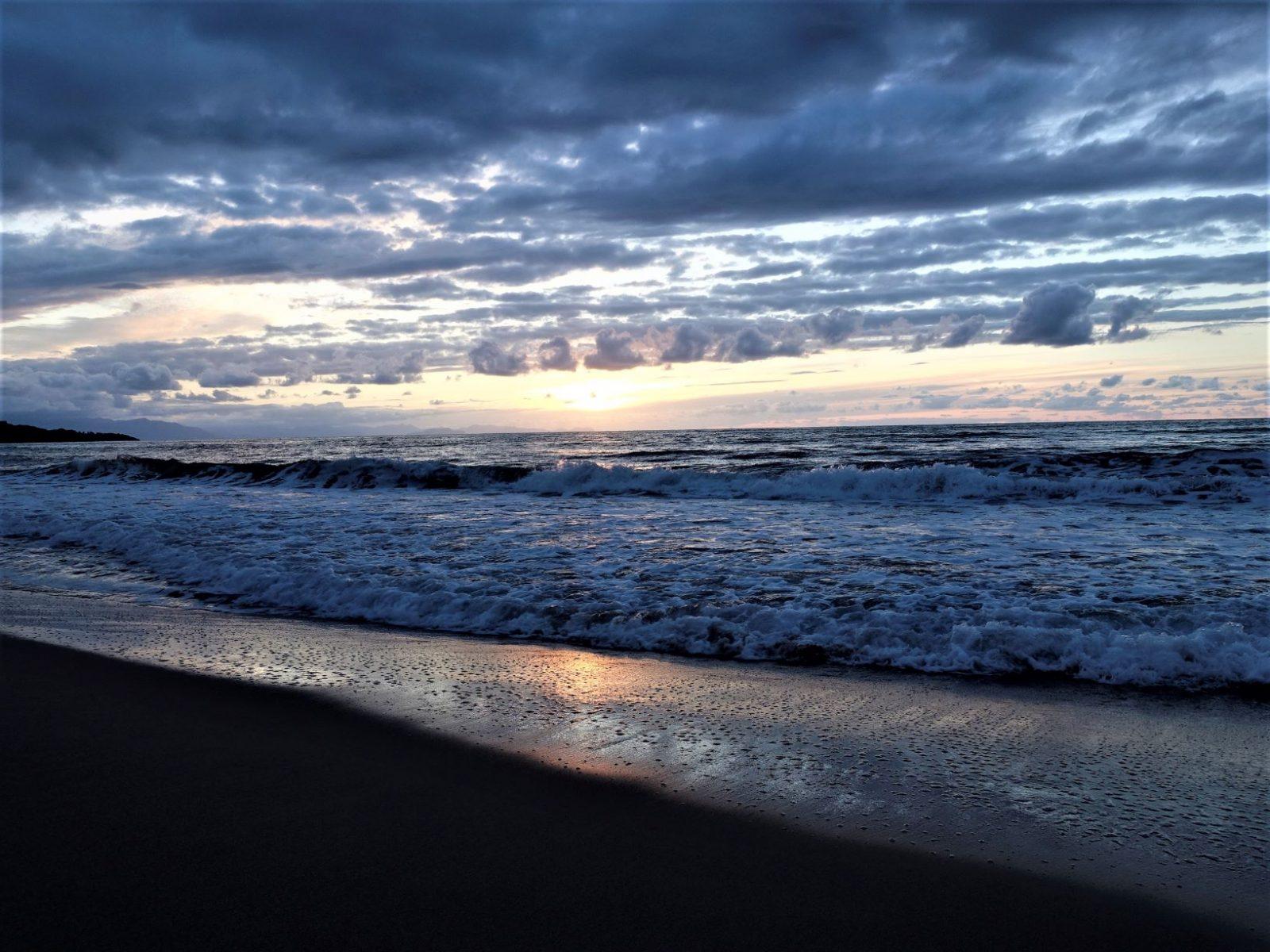Solnedgang på Cefalu Sicilia