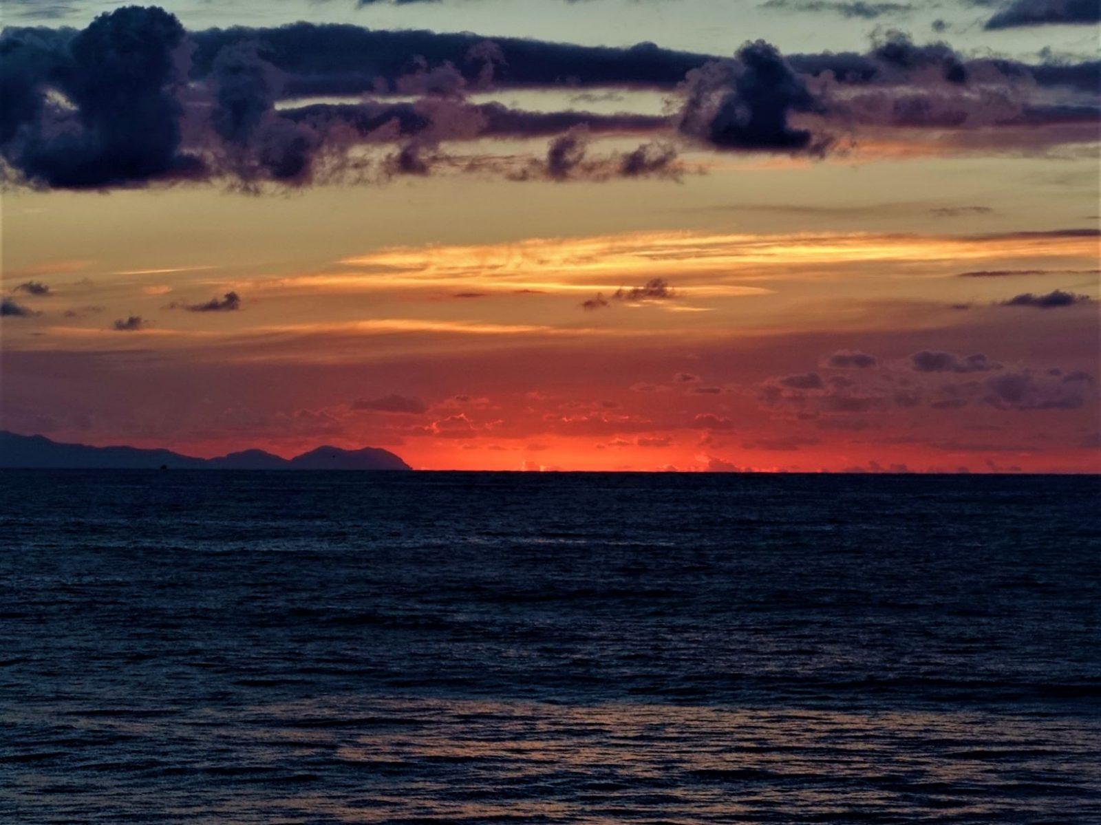 Solnedgang i Cefalu Sicilia