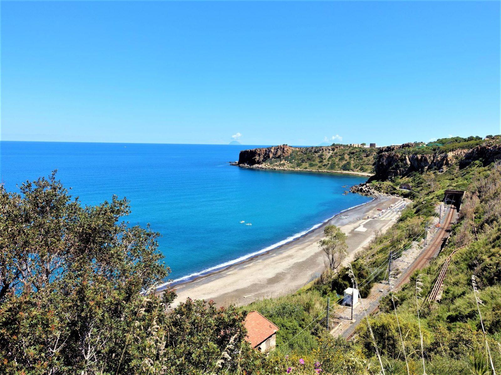 utsikt på sicilia nordside