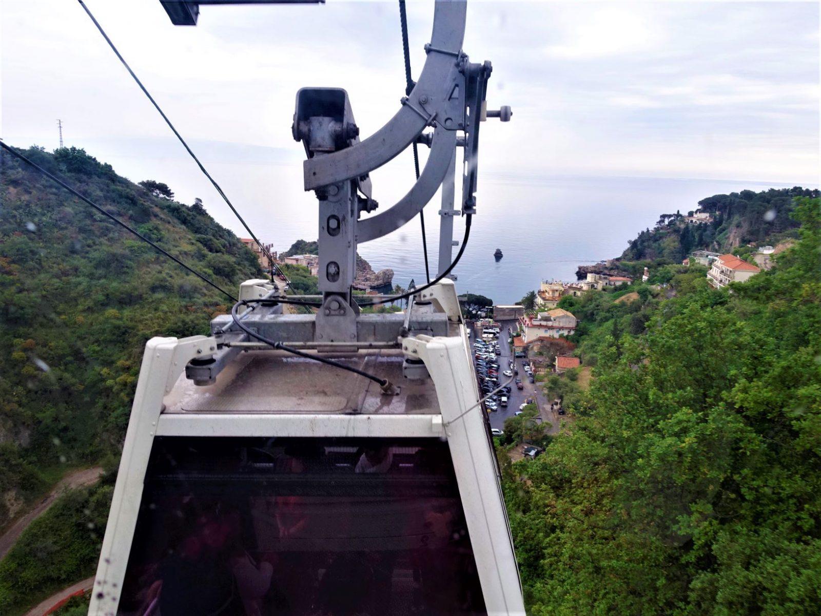 Taubanen i Taormina Sicilia
