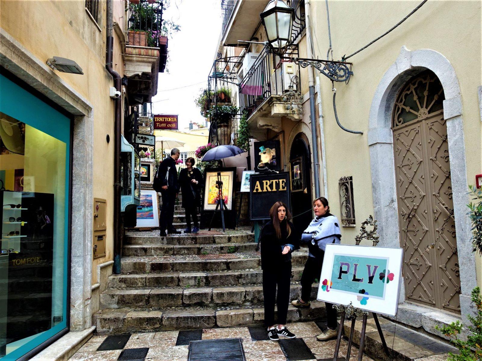 Byen taormina Sicilia