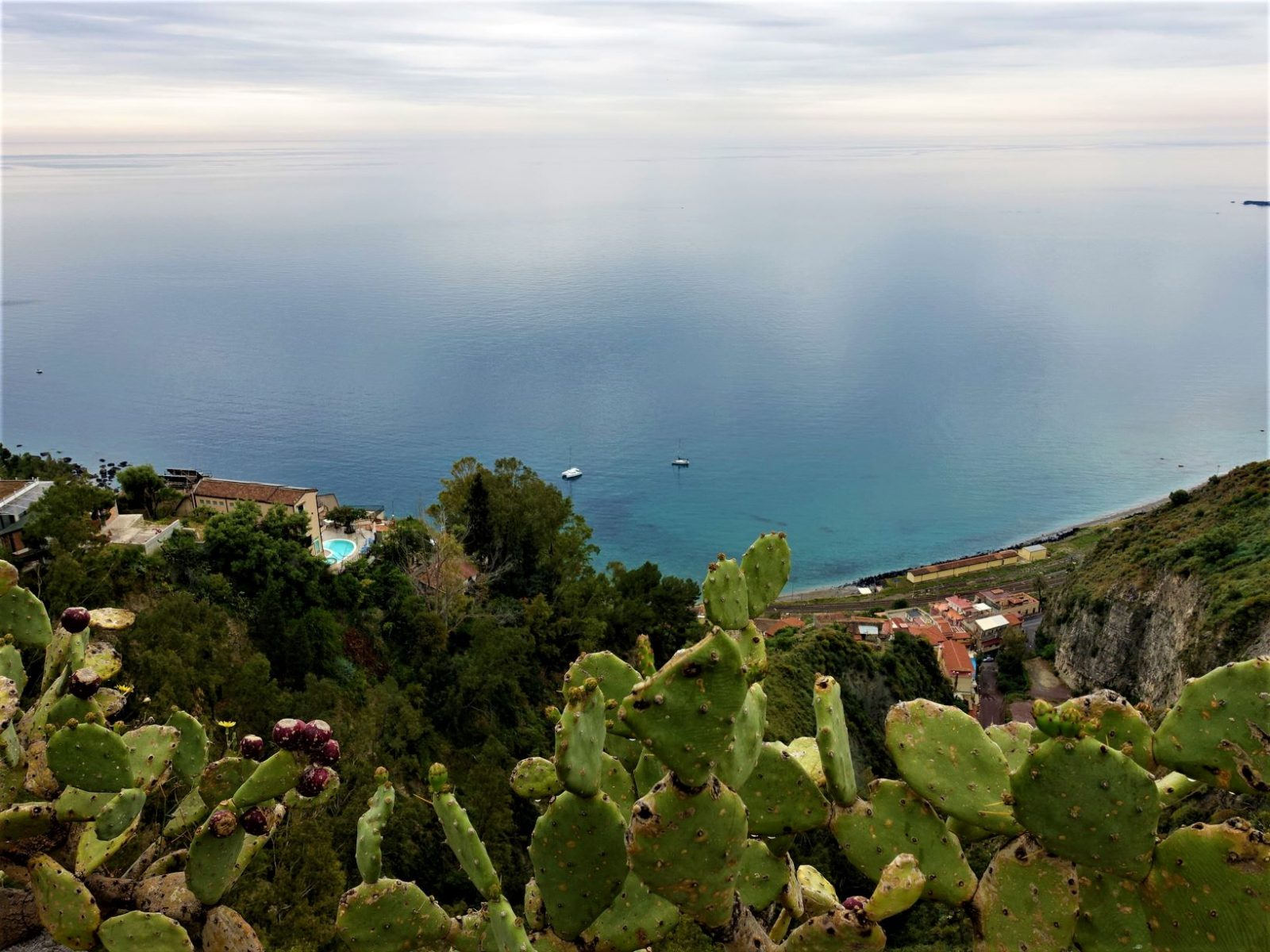 Utsikten fra Taormina