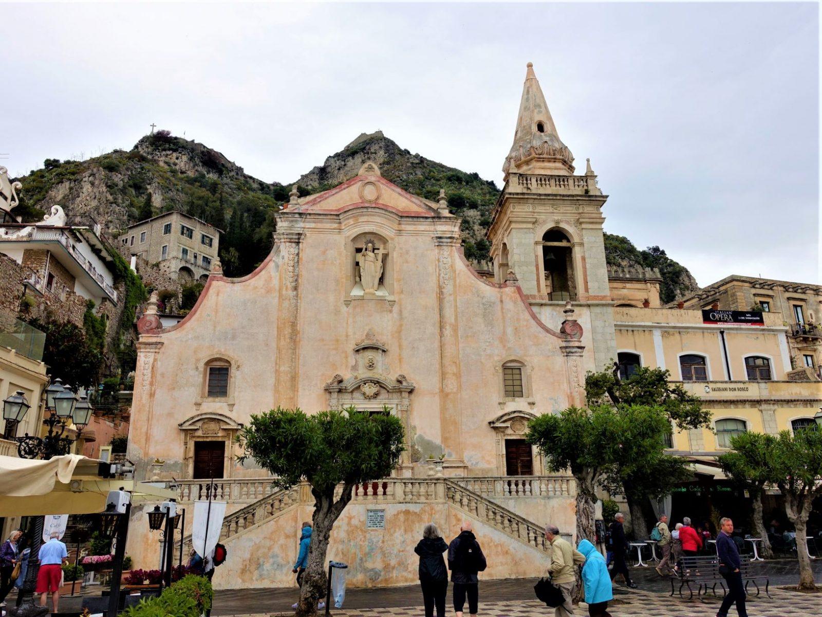 Kirken i  Taormina
