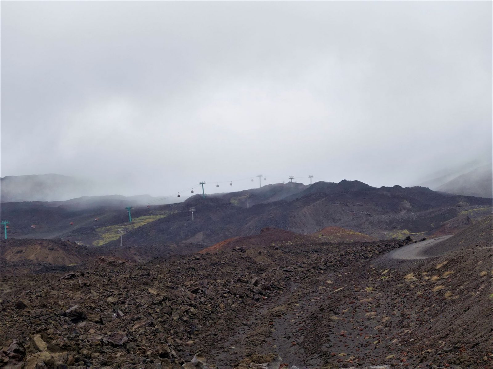 Vulkanen Etna Sicilia