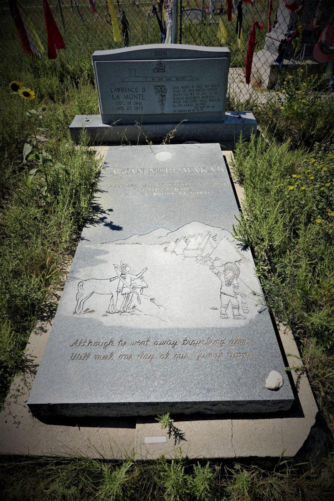 graven til en indianer