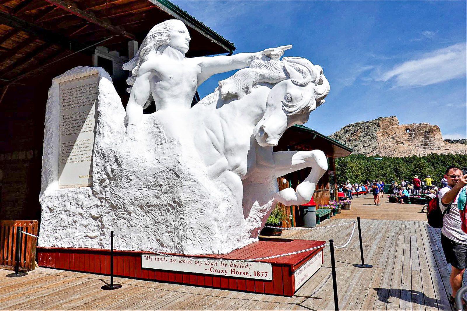 crazy horse monumentet usa