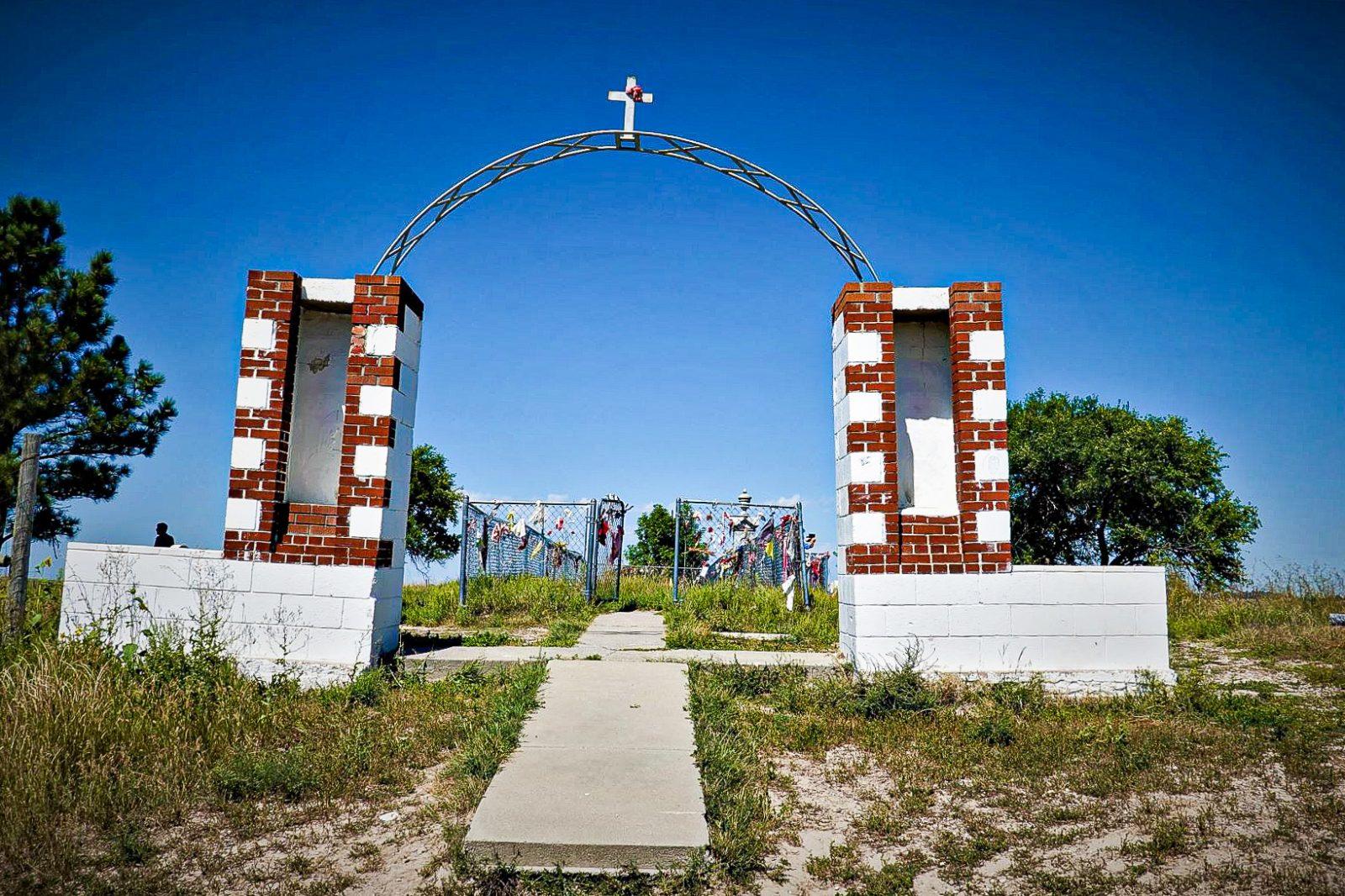 kirkegården på wounded knee