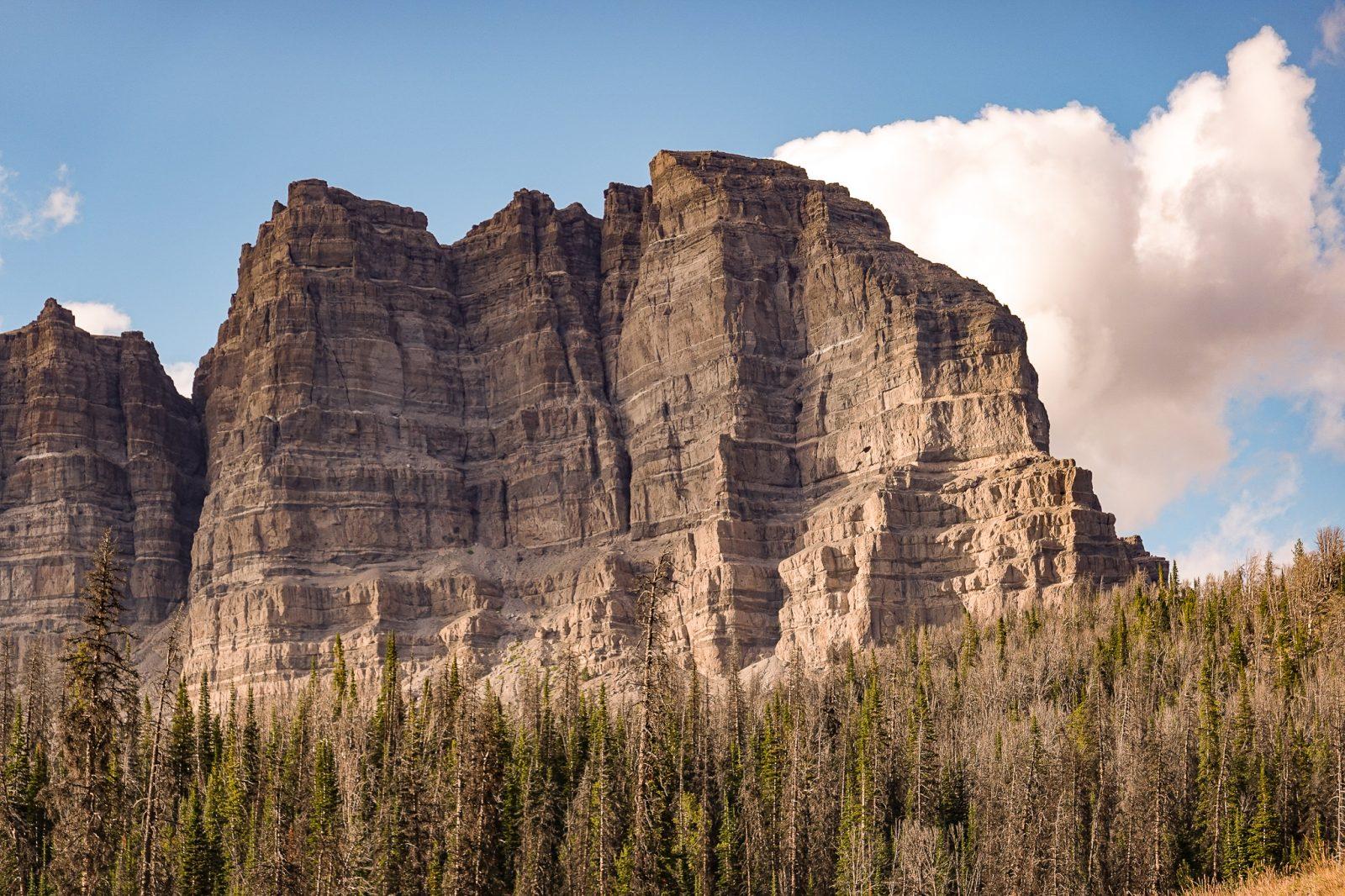 fjelltoppene i teton nationalpark