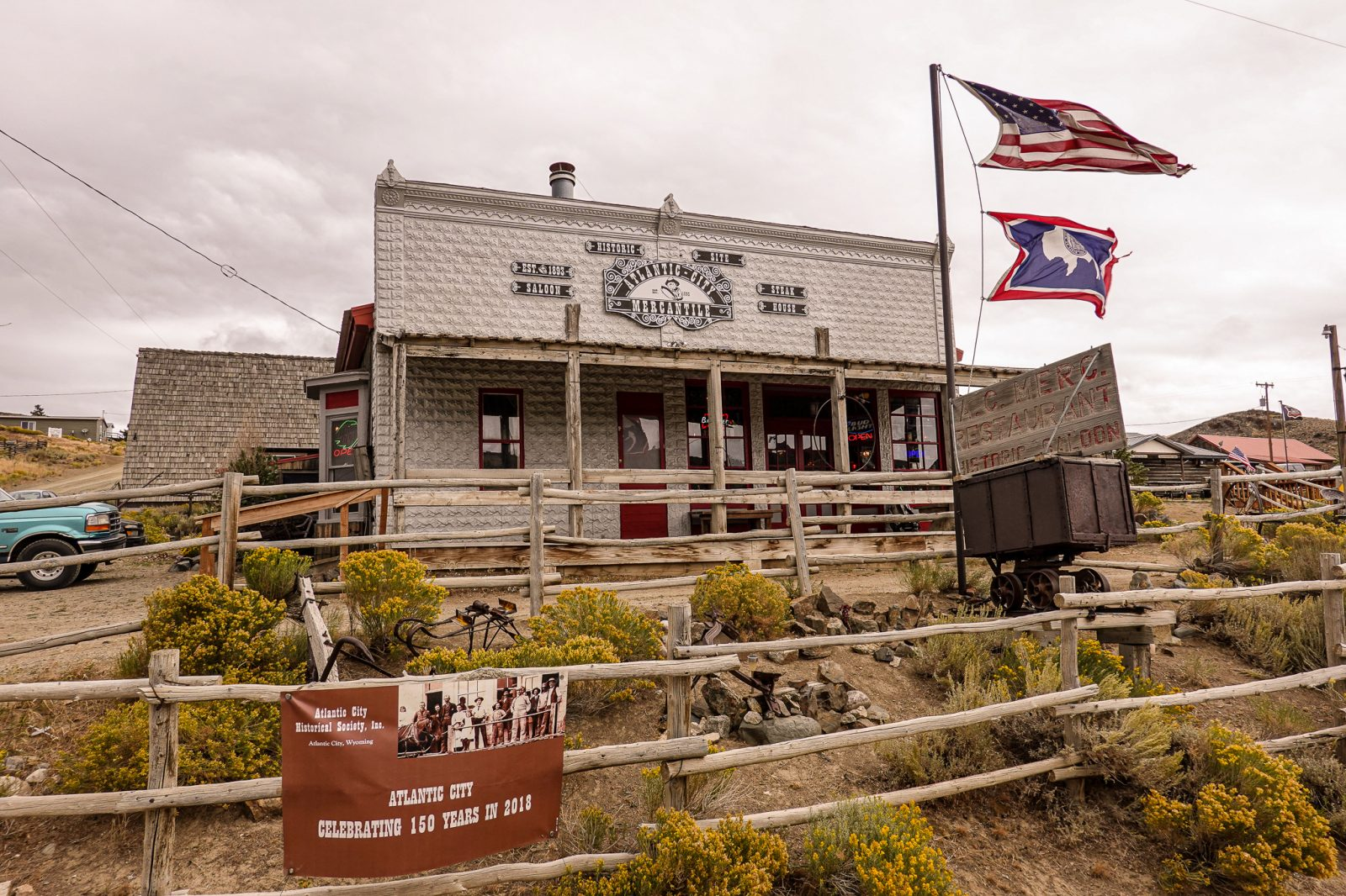gammel saloon i usa