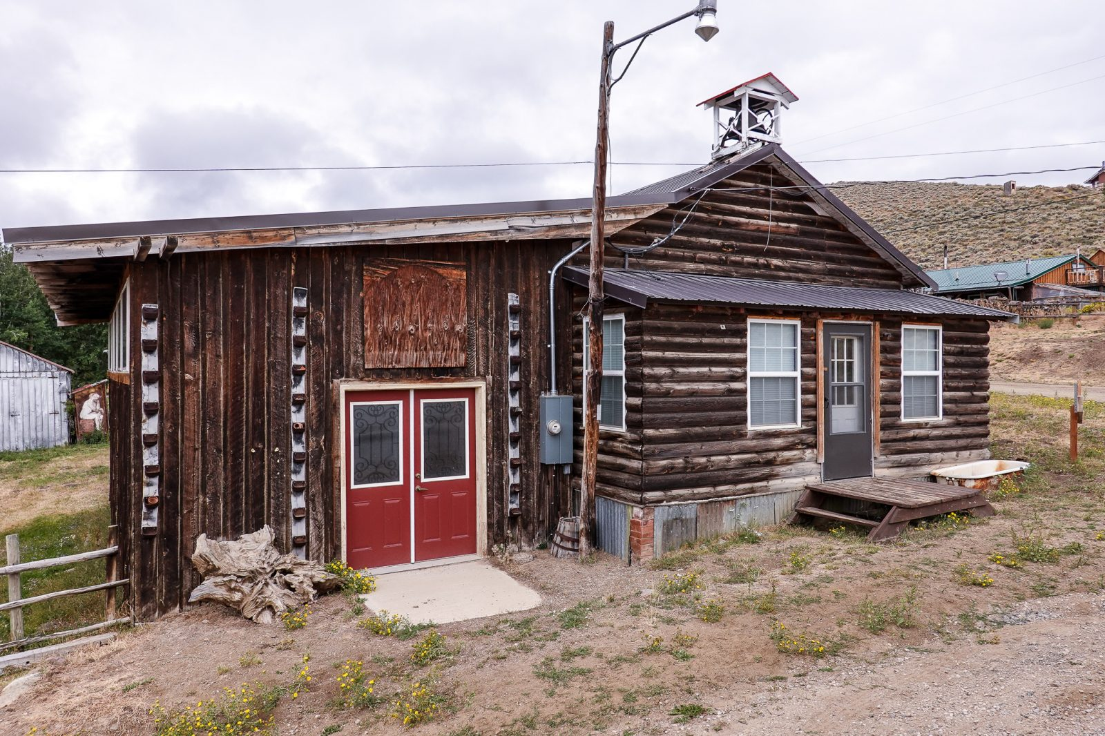 gammelt hus usa