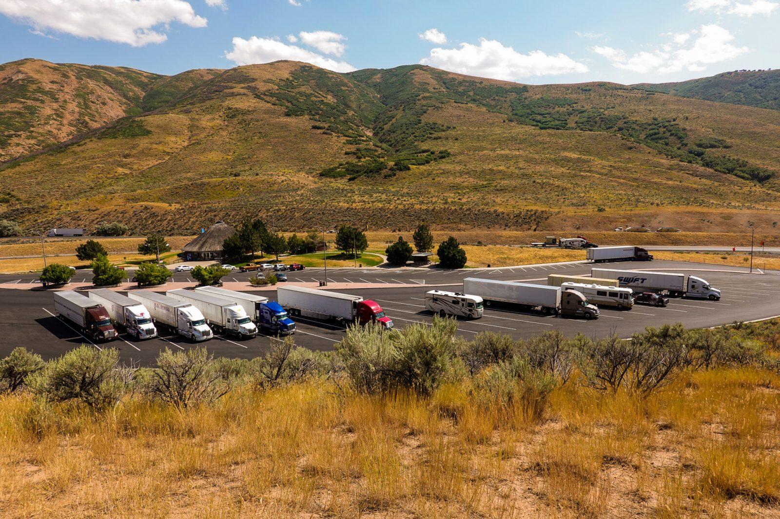 Grensen til Utah