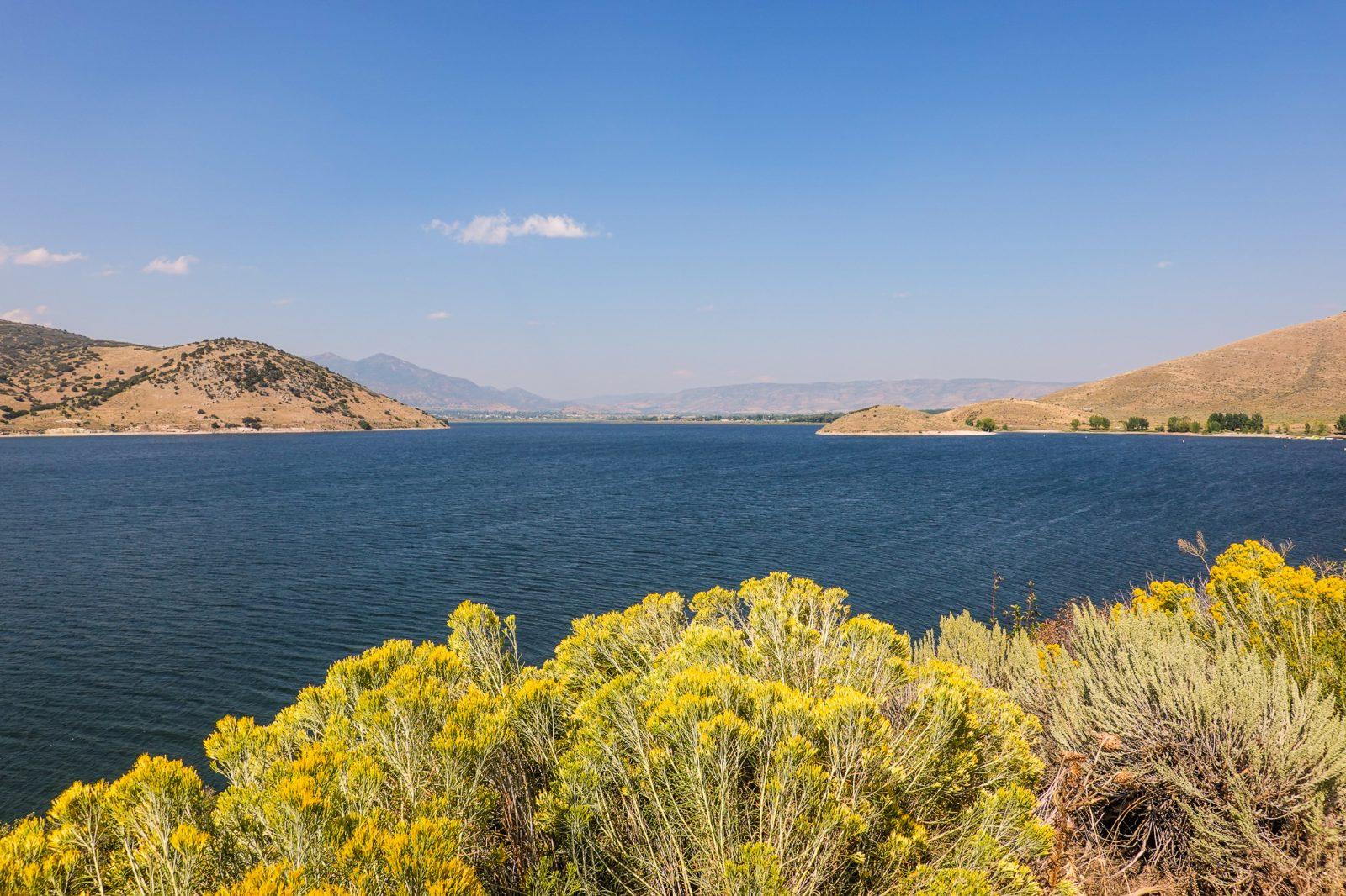 Great Salt lake i salt lake city